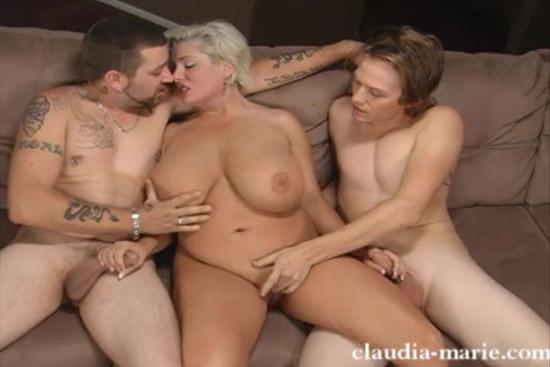 threesome cumshot ztod